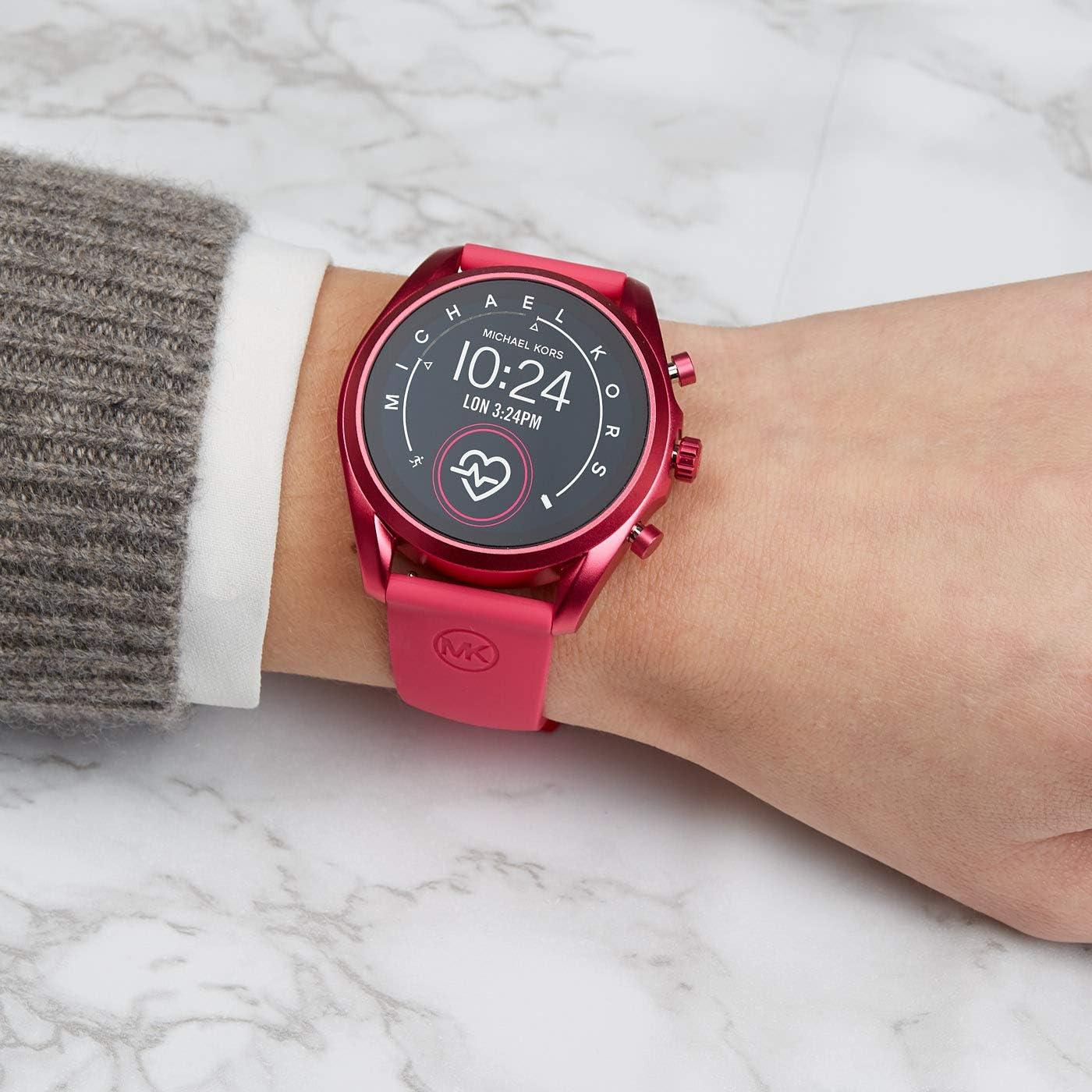Smartwatch Michael Kors Bradshaw 2 Gen 5 Fucsia MKT5099: Amazon.es ...