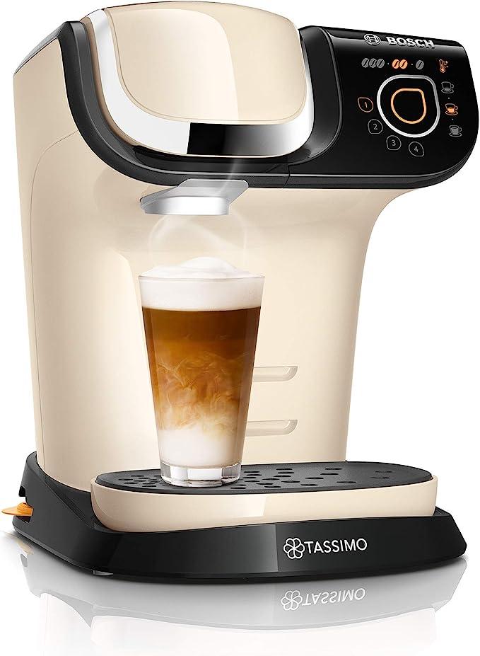 Bosch TAS6507 - Cafetera monodosis (1500 L, 1,3 litros), color crema: Amazon.es: Hogar