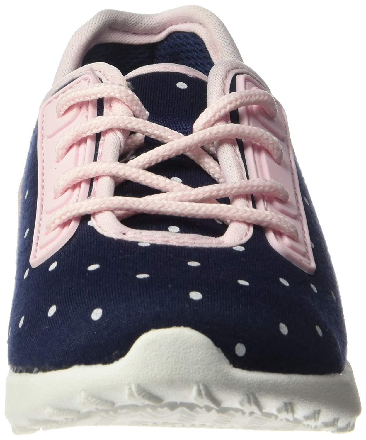 Carters Kids Girls Paow Mesh Athletic Sneaker with Bungee Laces