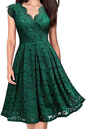 Amazon.com: 2019 Women Short Sleeve Dresses V-Neck Off