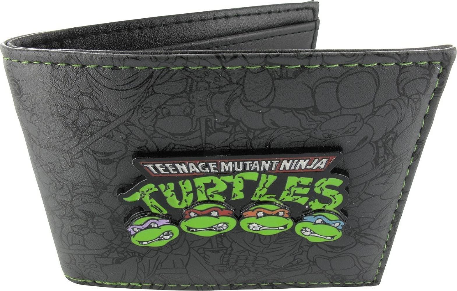 Teenage Mutant Ninja Turtles Group Billetera Plegable ...