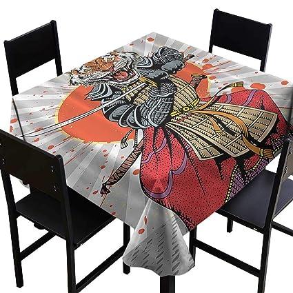 Amazon.com: SKDSArts Party Table Cloth Anime Wild Ninja ...