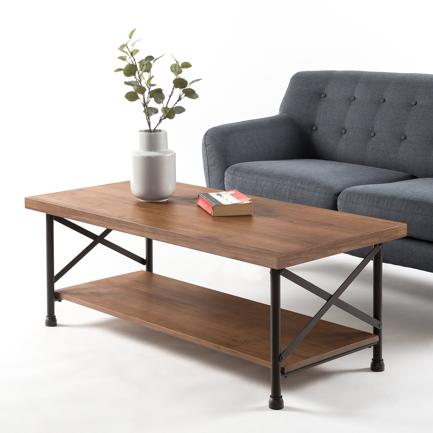 Zinus Industrial Style Coffee Table