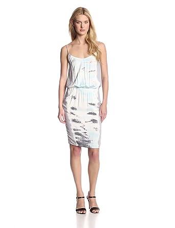 Young Fabulous & Broke Women's Parker Cami Bengal Stripe Dress, Grey Ice, X-Small