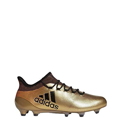 d908fe57eae66 adidas Mens X 17.1 FG Soccer Cleats (9.5)