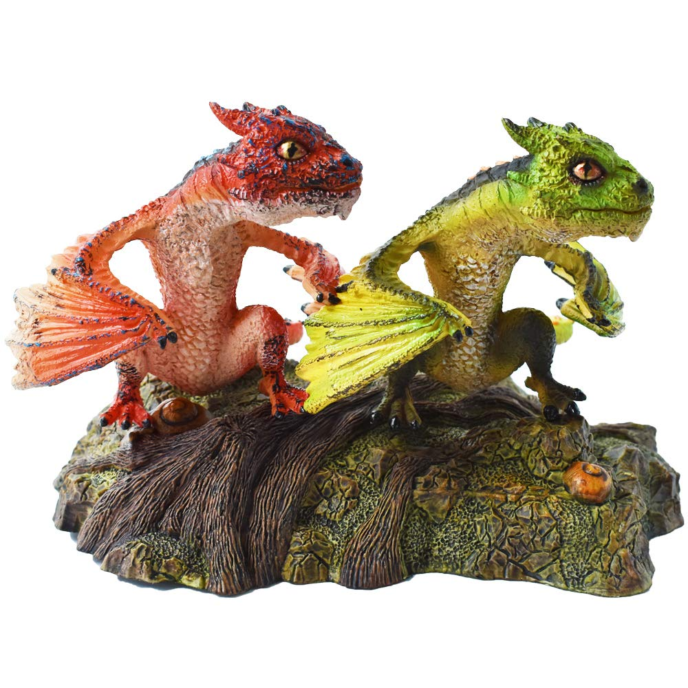 HiPlayDragon Toy Figure-Realistic Design with Amazing Detail Hand-Painted Dragon Model HP-D057