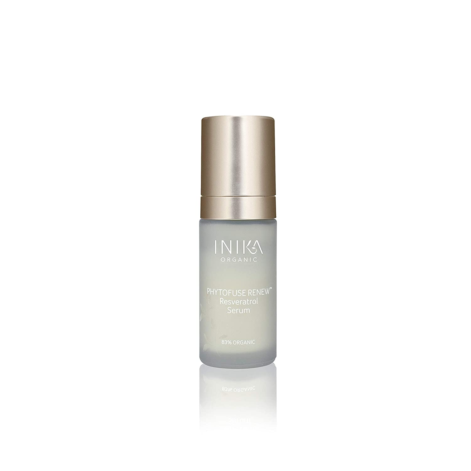 Amazon Com Inika Phytofuse Renew Resveratrol Serum Anti Aging
