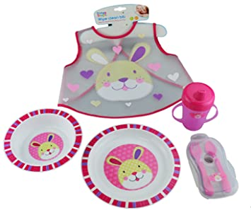Bowls & Plates First Steps Baby Feeding Set Plate Bowl