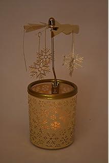 """Windlicht /""""Rudy/"""" Teelichthalter mit Stern Kerzenhalter"""