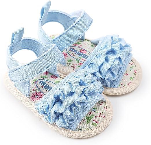 New Arrival Baby Boy Girl Pram Shoes Infant Anti-Slip Summer Sandals 3 6 9 12 18