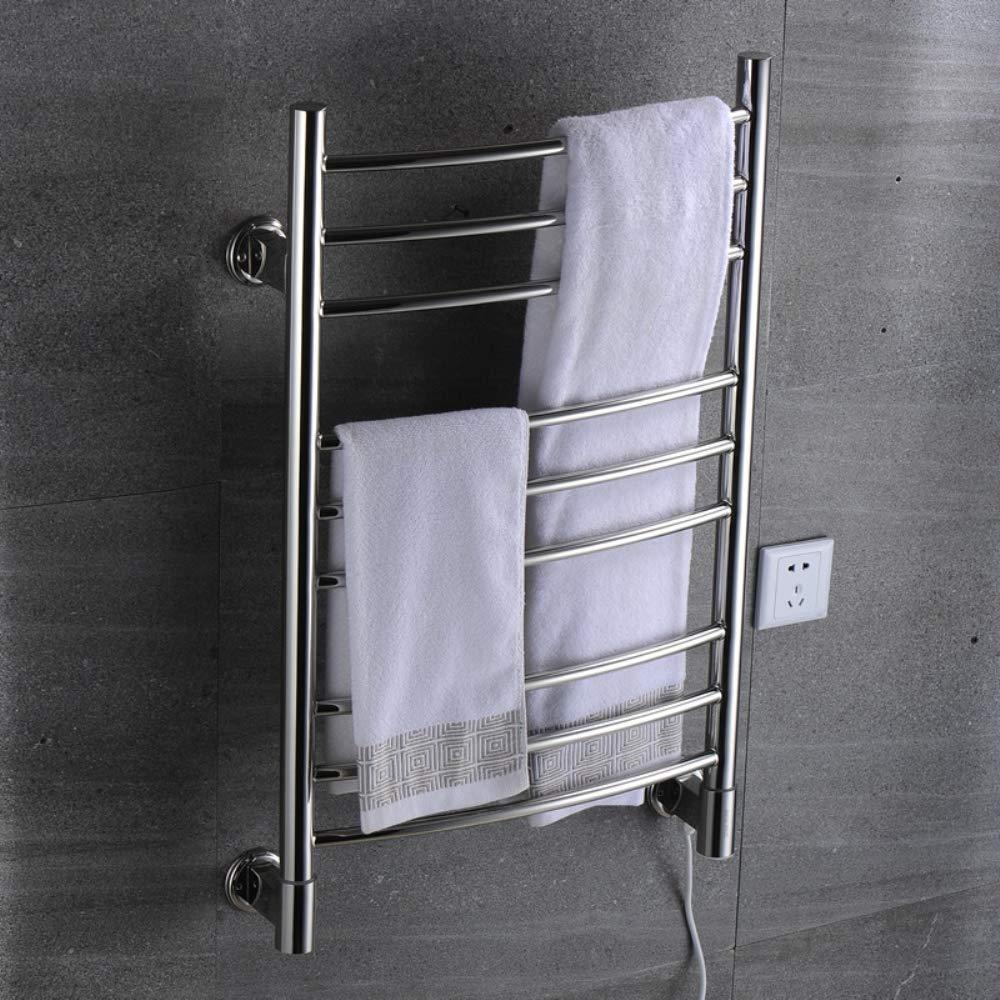 Acquisto JackeyLove Portasciugamani risCaldati in Acciaio Inox portasciugamani elettrici scalda riscaldatore, Potenza 110W, 110-240V, per Il Bagno Prezzi offerte