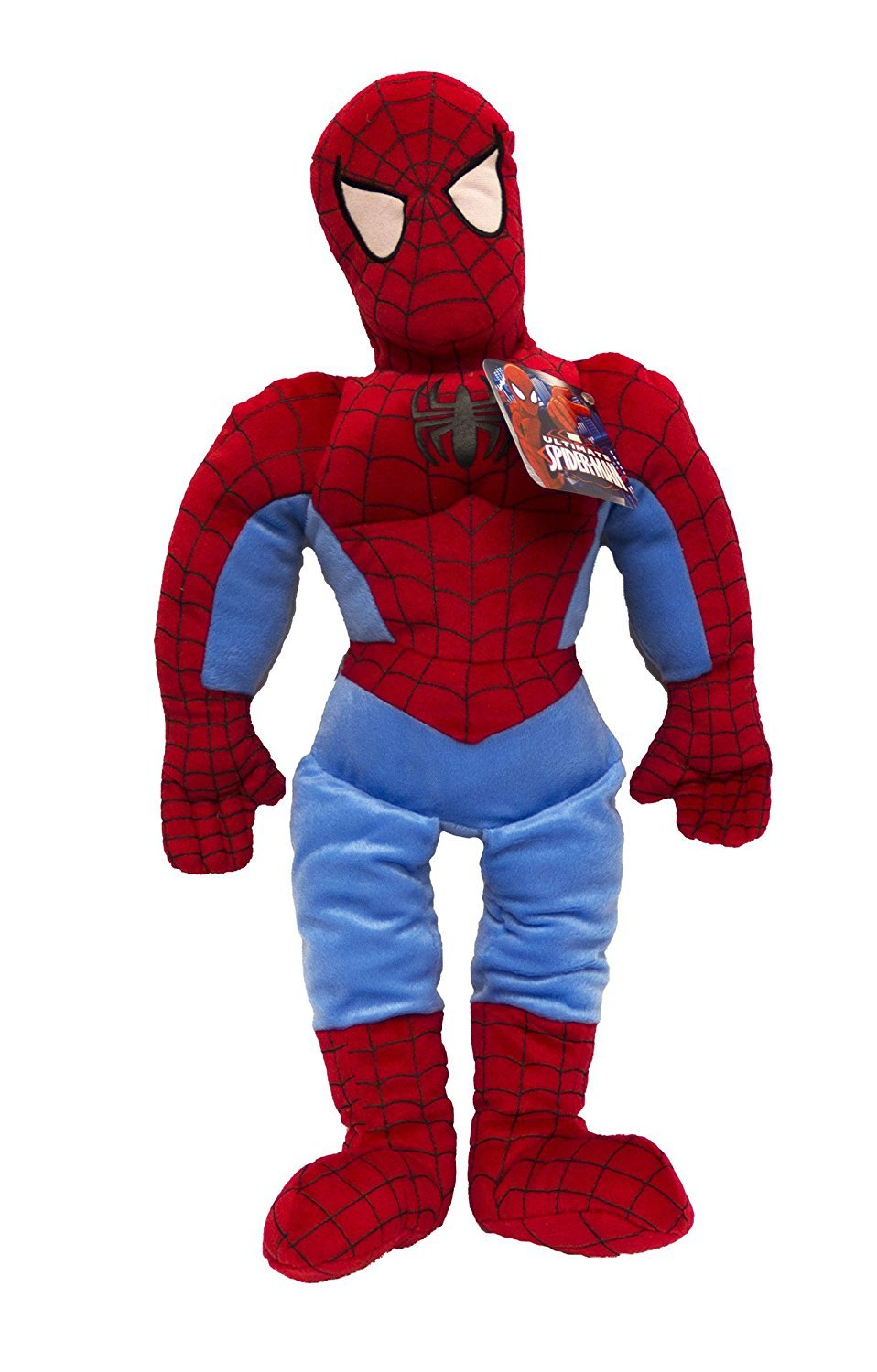 Jay Franco Marvel Spiderman Ultimate 26'' Pillowtime Pal, Blue, by Jay Franco
