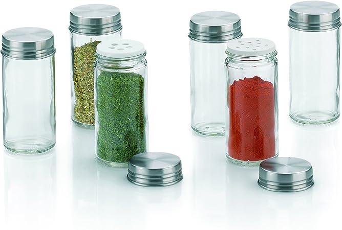 Contenitori per spezie in vetro Fidelis 6 pezzi kela 10859