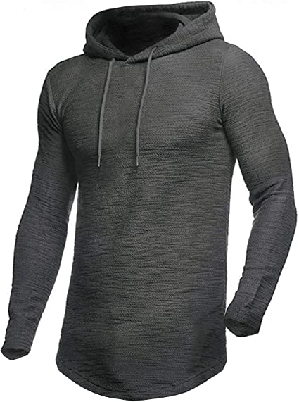 MODCHOK Men's Casual Hipster Hoodie Sweatshirts Gym Pullover
