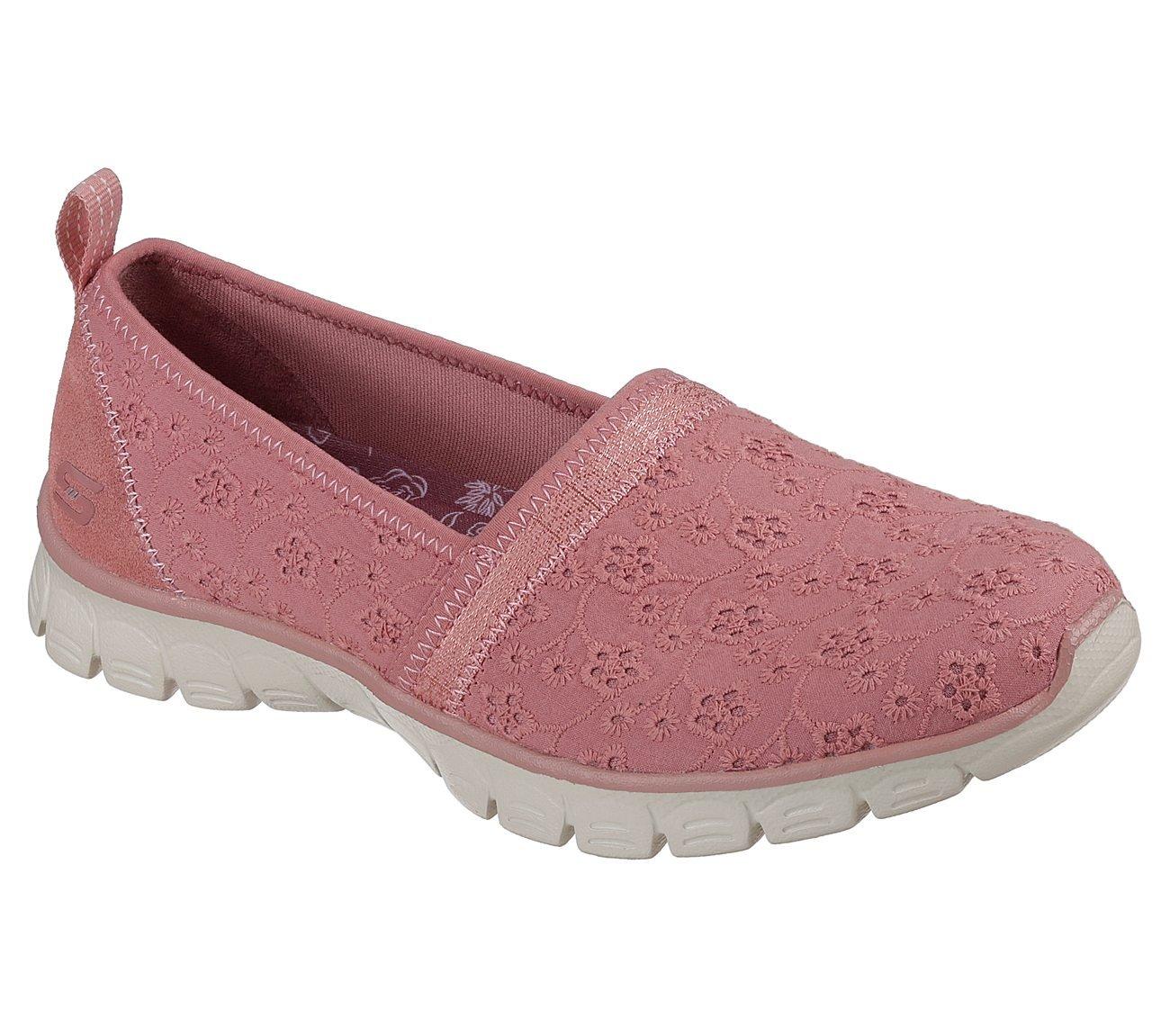 Skechers Women's Ez Flex 3.0 Kindred Spirit Slip On Sneaker,Rose,7.5