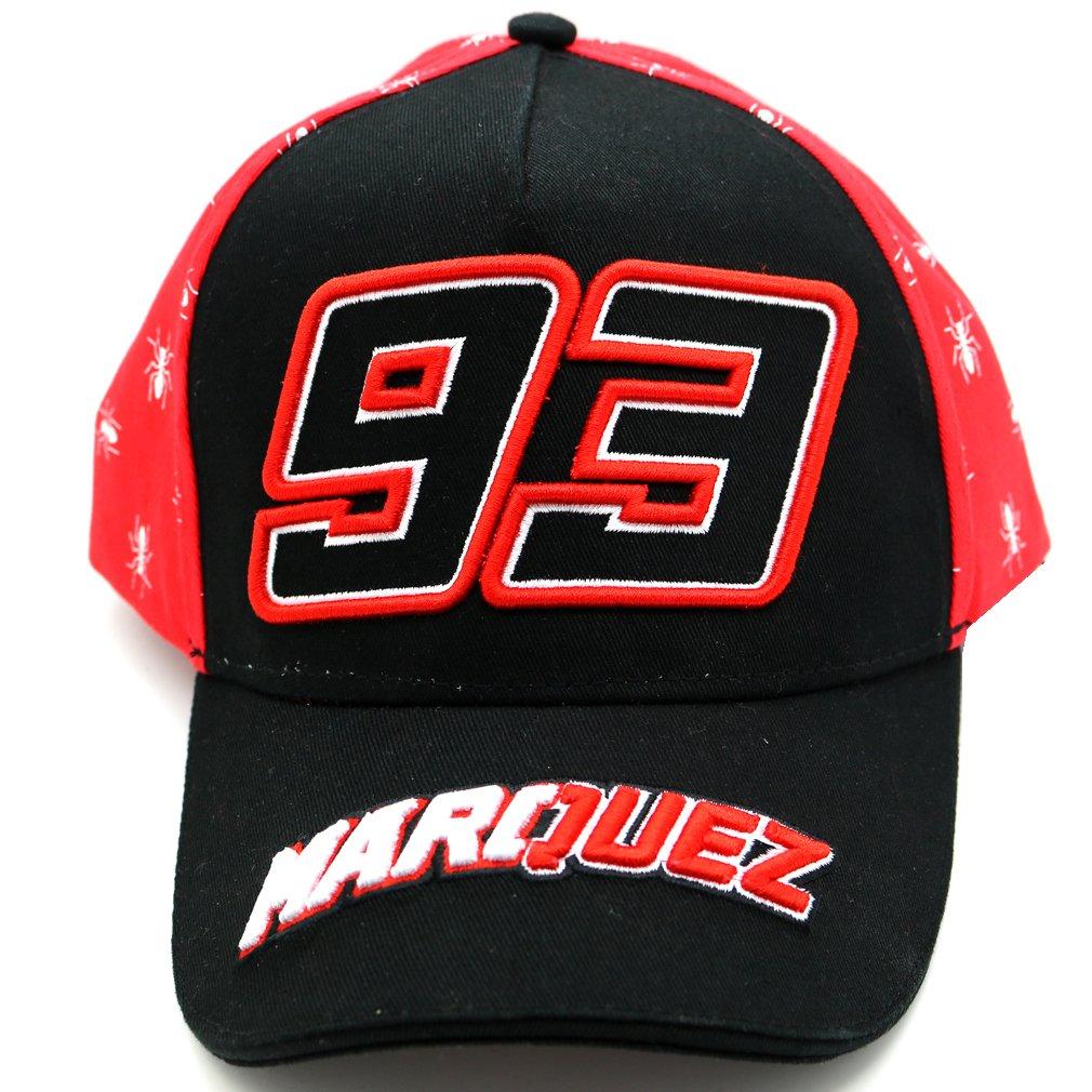 Marc Marquez 93 Moto GP negro Gorra Oficial 2017: Amazon.es ...