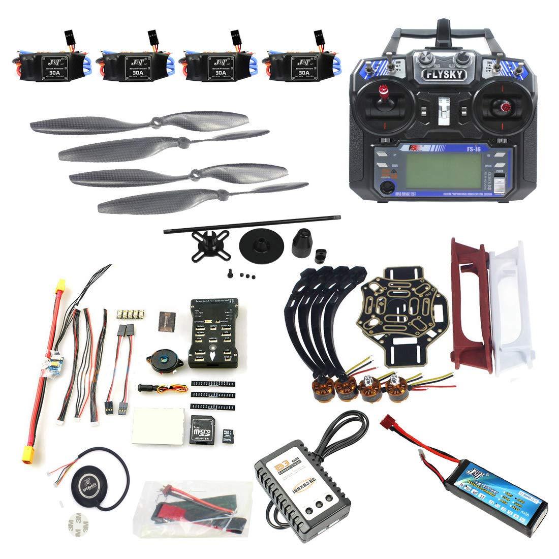 FEICHAO DIY FPV Drone Aircraft Kit Quadcopter 4 Assi 450 Frame PXI PX4 Flight Control 920KV Motore GPS FS-i6 Trasmettitore