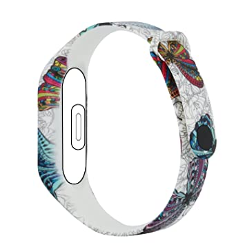 Fit-power Replacement bands for Xiaomi Mi Band 2 Smart Bracelet(Not for  Xiao Mi Band 1S)