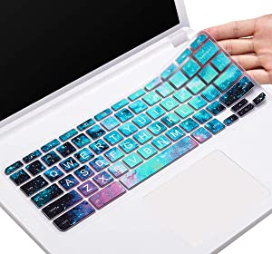 Keyboard Cover for Acer Chromebook Spin 311 CP311 C738T R11 CB3 CB5/Chromebook Spin 13 CP713 CB5-312T/Chromebook 14 314 514 714 CB514 CB714/Chromebook 15 315 CP315 CB3 CB5 CB515, Galaxy