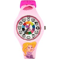 Preschool Watch - The Only Analog Kids Watch Preschoolers Understand! Quality Teaching/Learning Time Silicone Watch with Glow-in-The-Dark Dial & Japan Movement