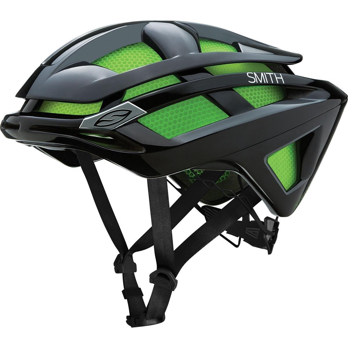Smith Optics Overtake Adult MTB Cycling Helmet - Black/Large