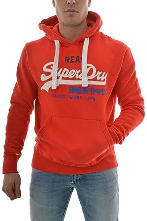 Superdry Herren Sweatshirt Gr. X-Small, rot  Amazon.de  Bekleidung 1a5fd84bc7