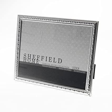 Sheffield Home Silver Plated Timeless Collection 8 X 10 Photo