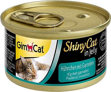 GimCat ShinyCat in Jelly – Comida para gatos con ave en gelatina ...