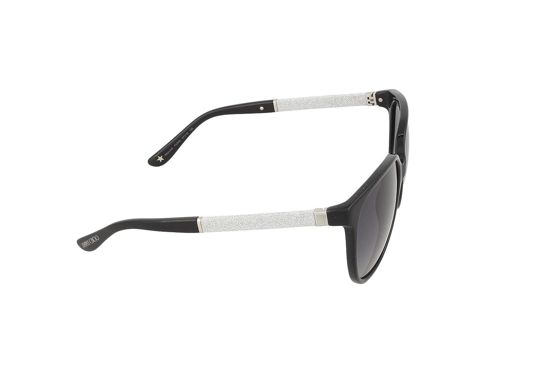 Amazon.com: anteojos de sol JIMMY CHOO Paula/S 0 FA3 negro ...