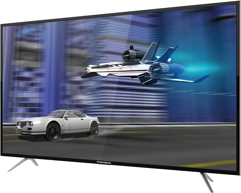 Thomson 65 UC6306-164 cm (65 Zoll) TV (4K Ultra HD, HDR 10, Smart TV, WLAN, Triple Tuner (DVB T2), USB): Amazon.es: Electrónica