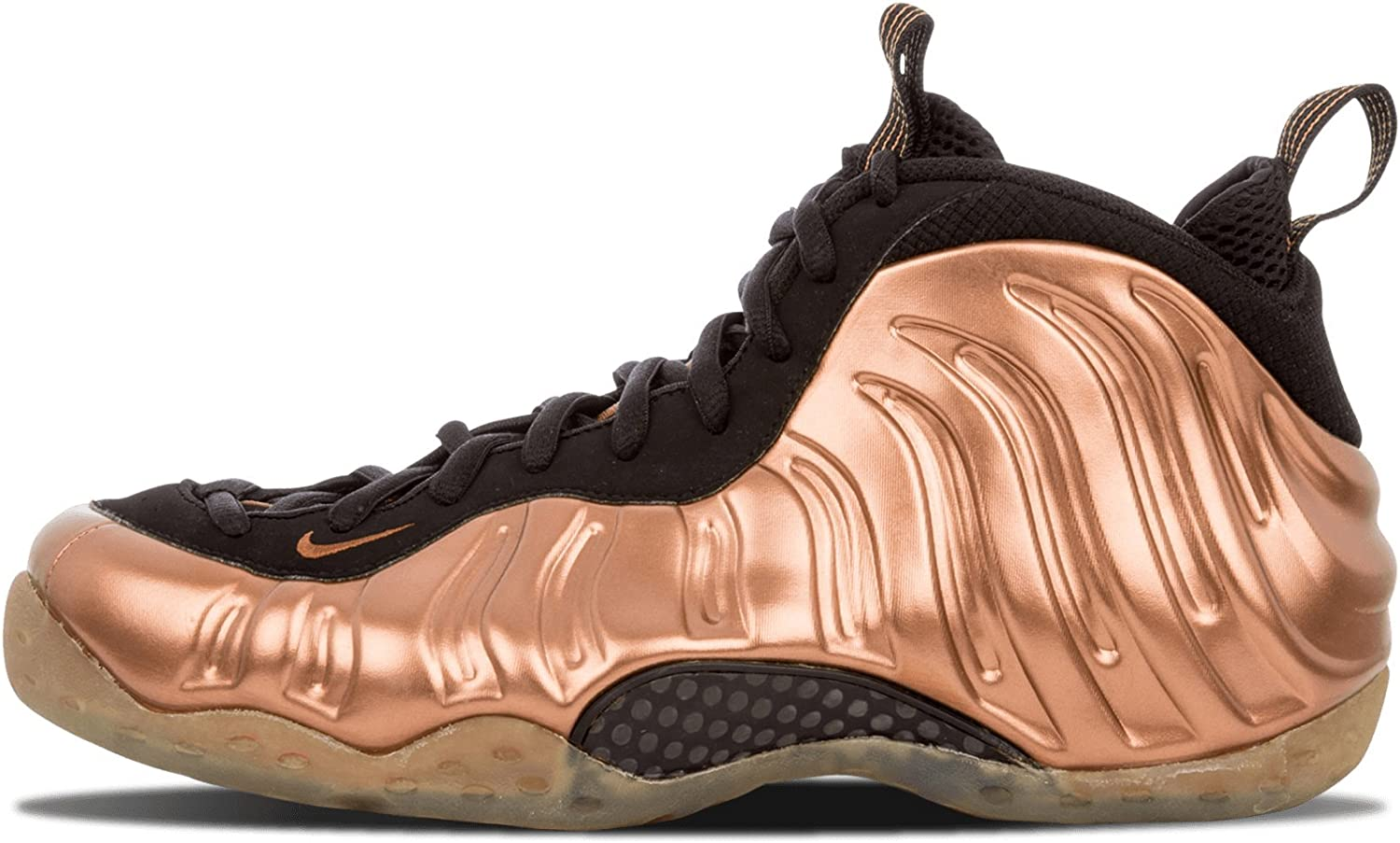 W Air Foamposite One Black BlackMetallic Gold 12W