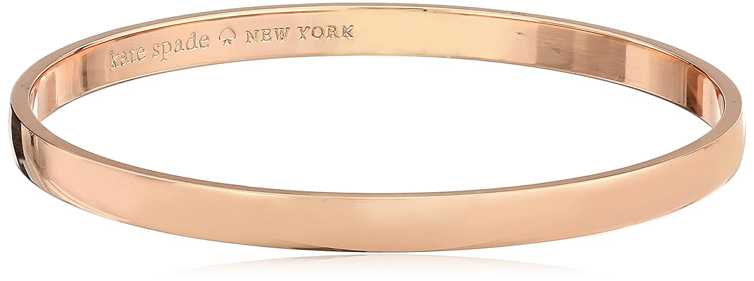 kate spade new york Idiom Bangles Stop and Smell The Roses Solid Bangle Bracelet kate spade jewelry WBRU9166