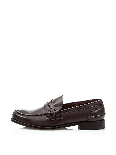 Cortefiel Mocasines Goma Marrón Oscuro EU 41: Amazon.es: Zapatos y complementos