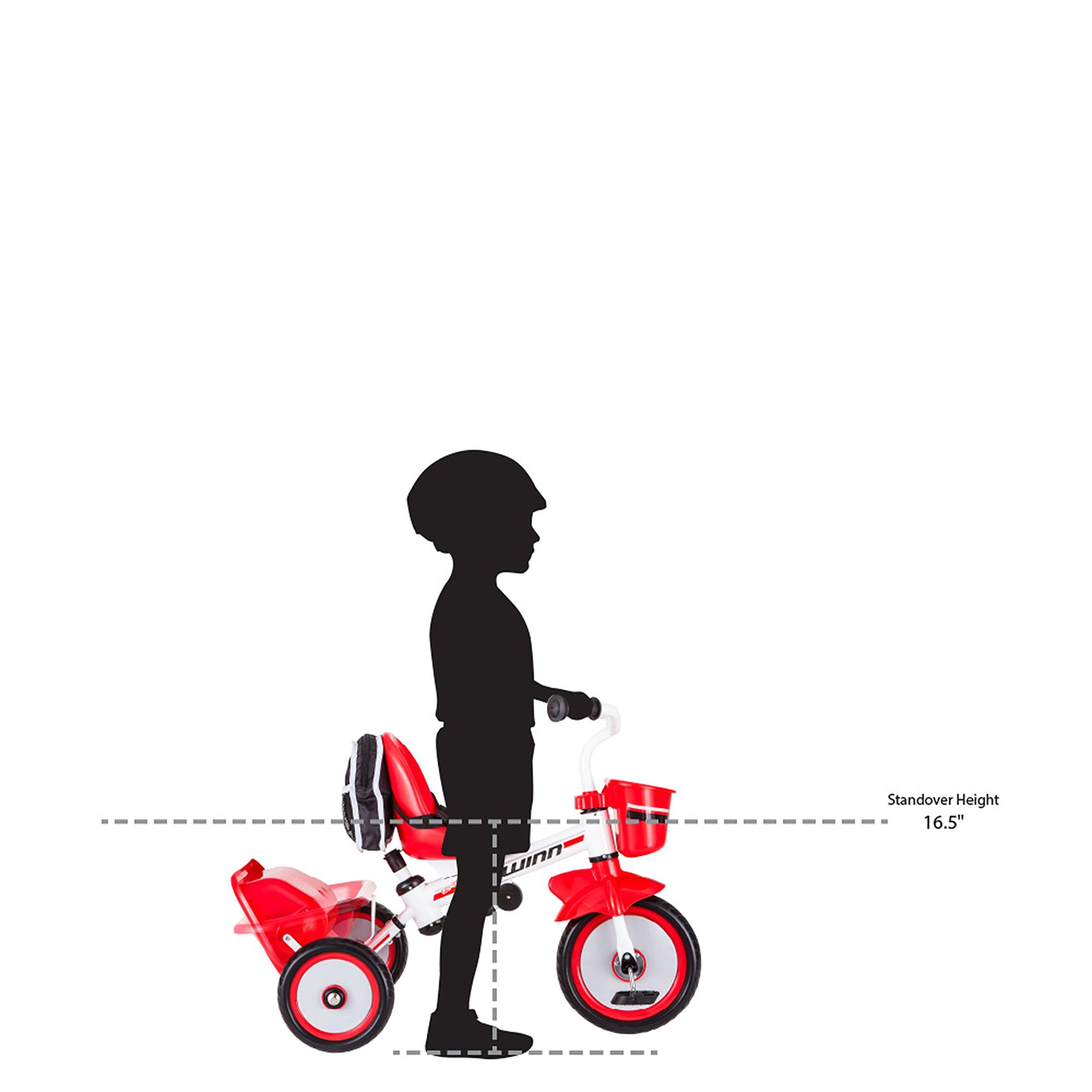 Schwinn Easy Steer Tricycle, Red/White by Schwinn (Image #6)