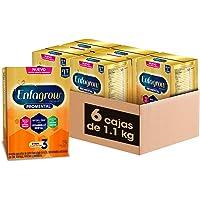 Enfagrow Premium Promental Etapa 3 Alimento a base de leche fortificado para Niños Mayores de 12 Meses Paquete Promo 6…