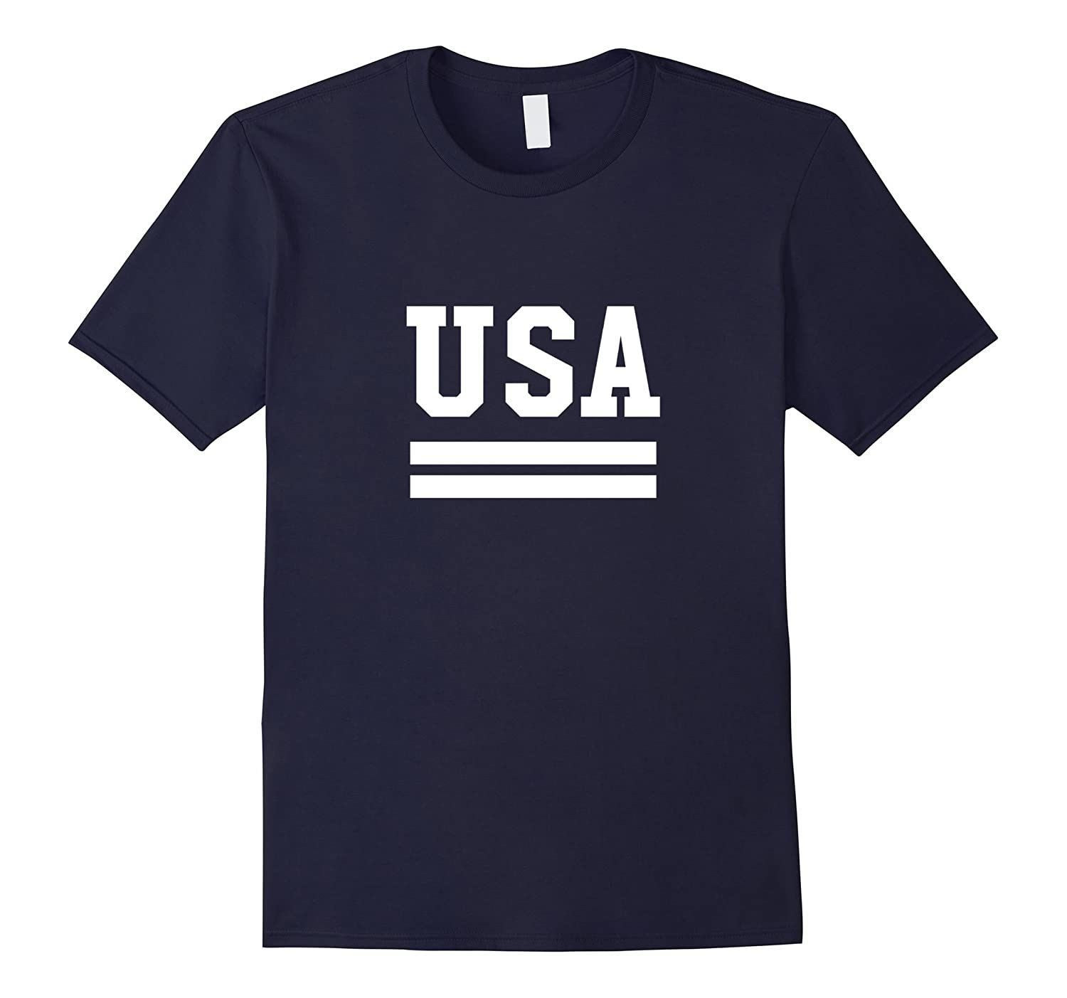 USA Proud American Patriot 4th Of JulyIndependence Day Tee-Art