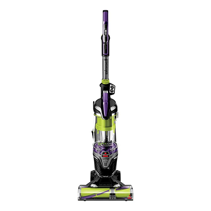 BISSELL [ Upgraded Pet Hair Eraser Turbo Plus Lightweight Upright Vacuum Cleaner, 24613, New