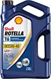 Shell Rotella T Rotella T6 Full Synthetic 15W-40 Diesel Engine Oil (1-Gallon, Single Pack)
