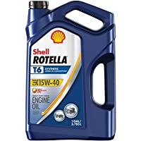 $22 » Shell Rotella T 550050467 Rotella T6 Full Synthetic 15W-40 Diesel Engine Oil (1-Gallon,…