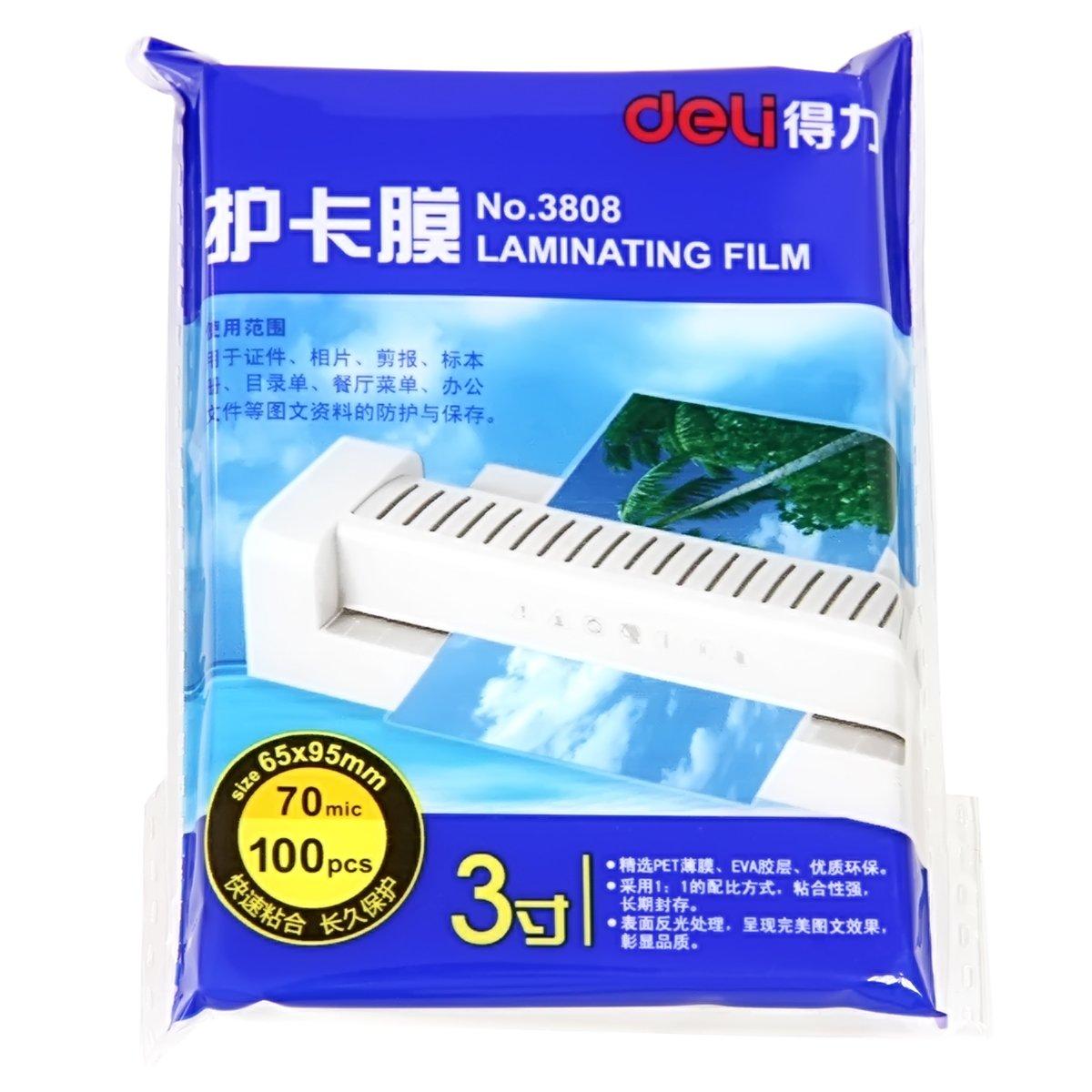 Deli - Bolsas térmicas para plastificar (3 millas, 100 ...
