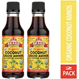 Bragg Coconut Aminos, All Purpose Seasoning, 10 Oz Pack of Two