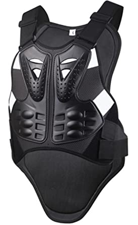 Adult Body Armor Vest Chest Protector Guard Unisex fr ATV Motorcycle Racing Gear