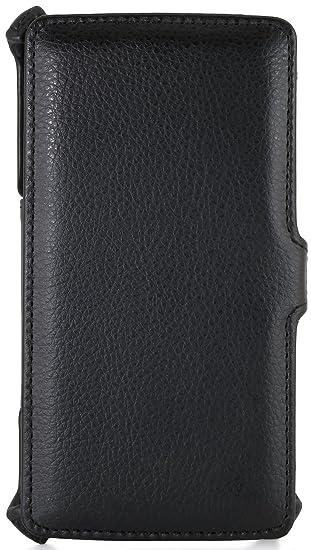 StilGut UltraSlim Case, Funda para el Original LG G4 Note, Negro