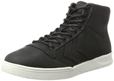 hummel Stadil Winter, Sneakers Hautes Mixte Adulte, Noir (Black), 39 EU