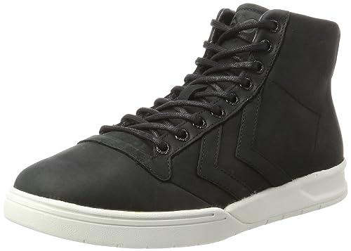 hummel Stadil Winter Sneaker, Sneakers Hautes Mixte Adulte, Vert (Rosin), 37 EU