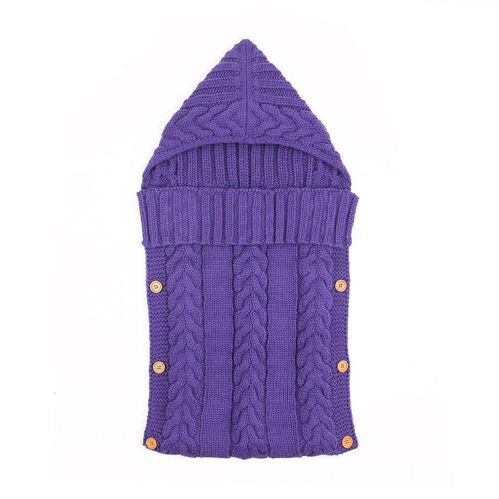 ElifeAcc Couverture à Langer pour bébé de 0 à 12 Mois (Violet) 90 Points