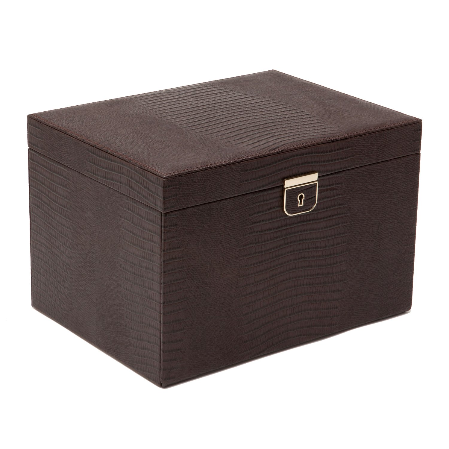 WOLF 213095 Palermo Large Jewelry Box, Brown by WOLF (Image #1)