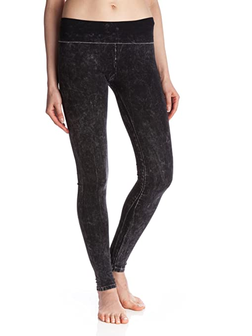 fff64f584bfda Amazon.com: T Party Mineral Washed Foldover Leggings: Sports & Outdoors