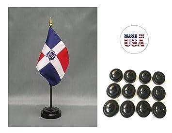 "4/""x6/"" Czech Republic Stick Flag Table Staff Desk Table"