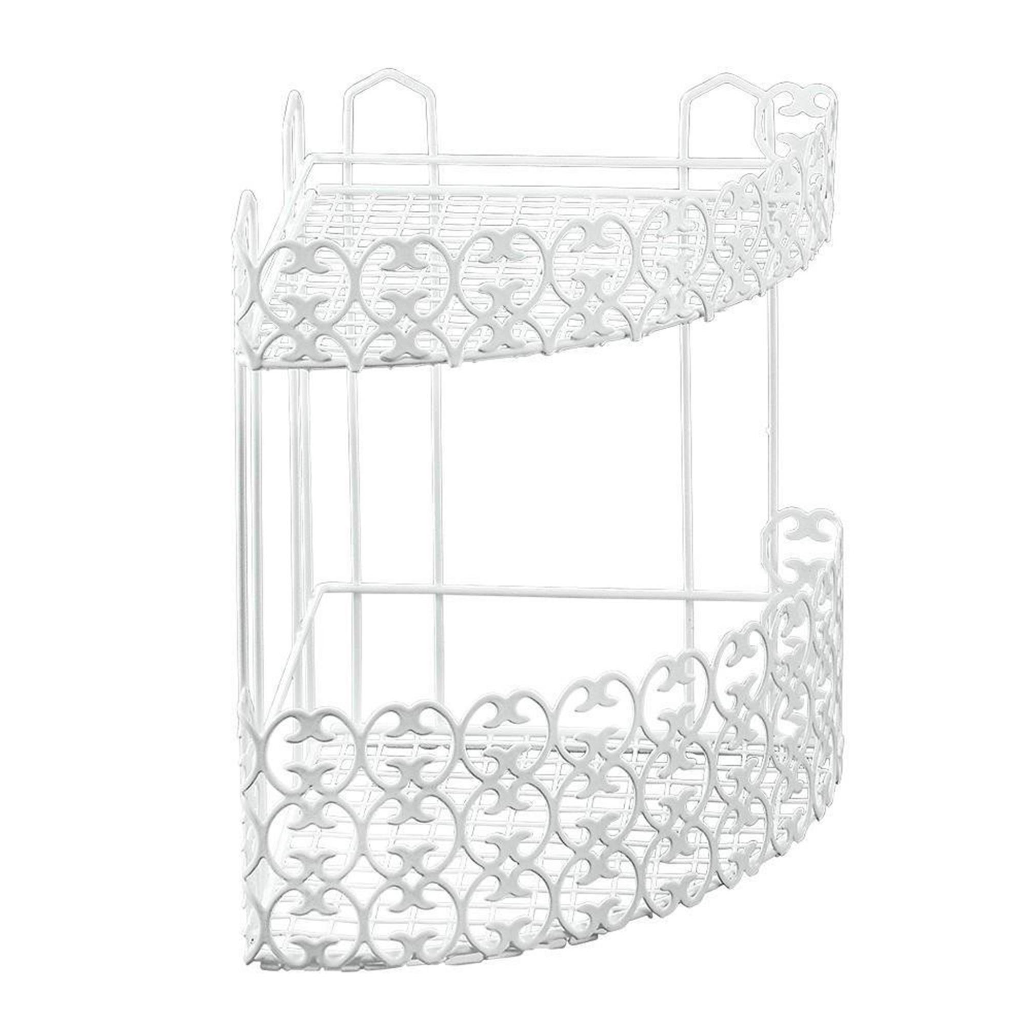 Metaltex 2 Tier Coner Shelf